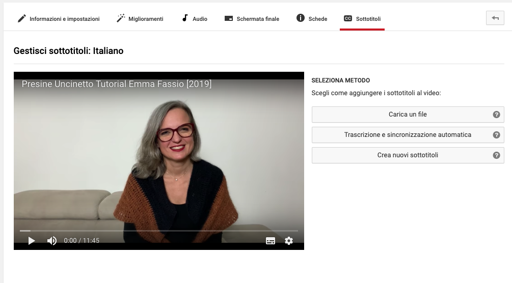 Seo in Youtube titoli